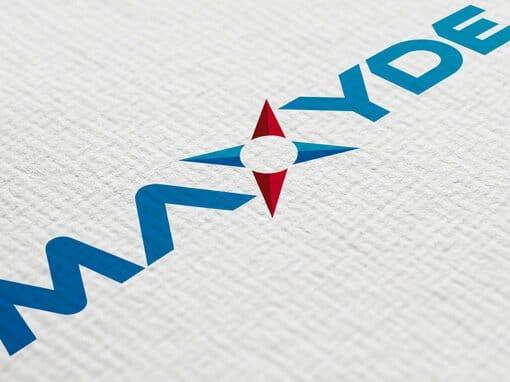 Création du logo Maxyde
