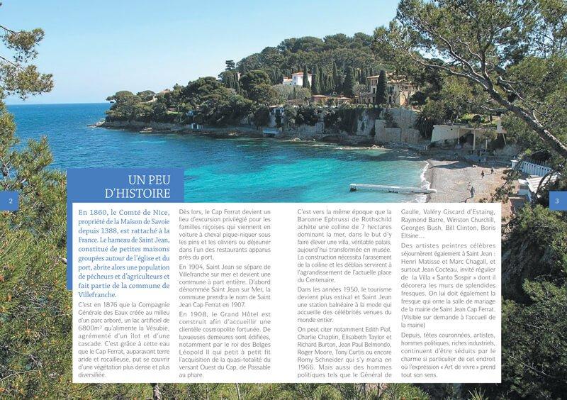 Des guides touristiques aux couleurs de saint jean cap - Office du tourisme saint jean cap ferrat ...