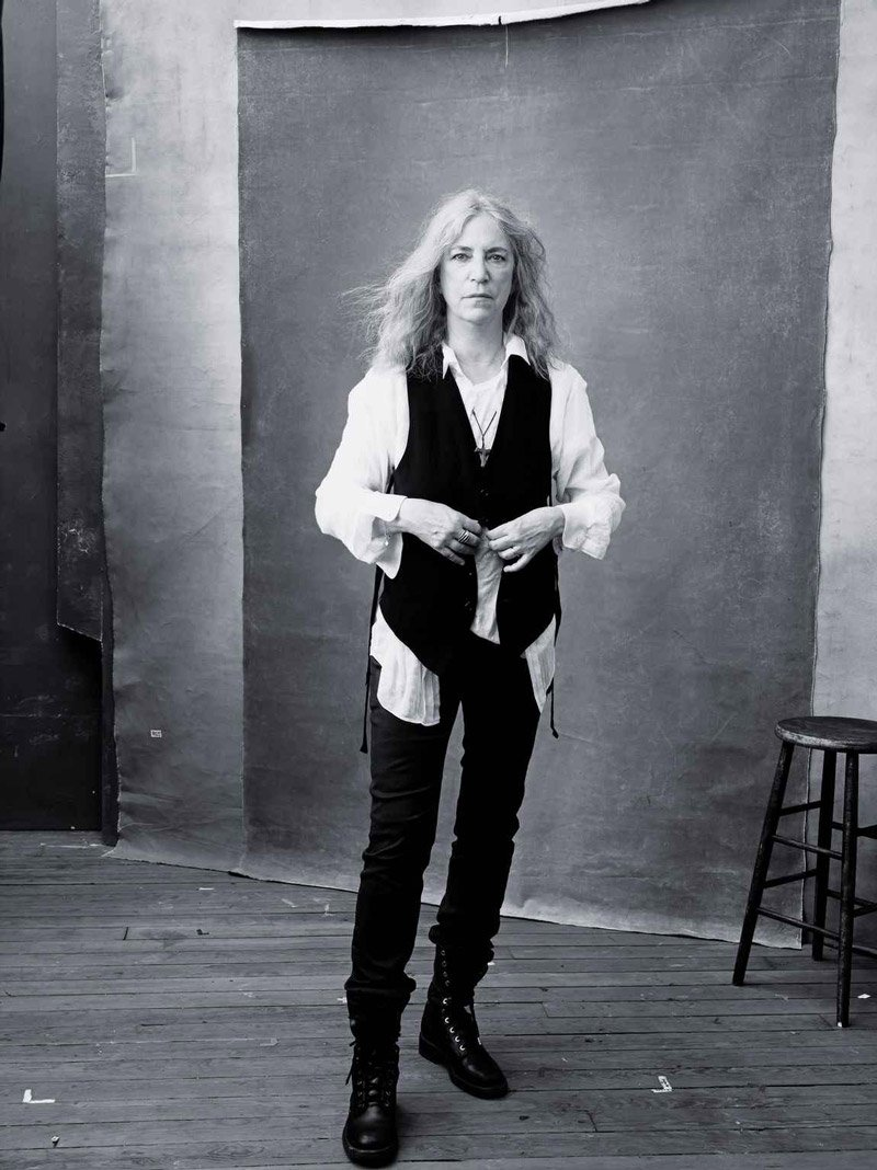 Patti Smith – © Annie Leibovitz, Pirelli