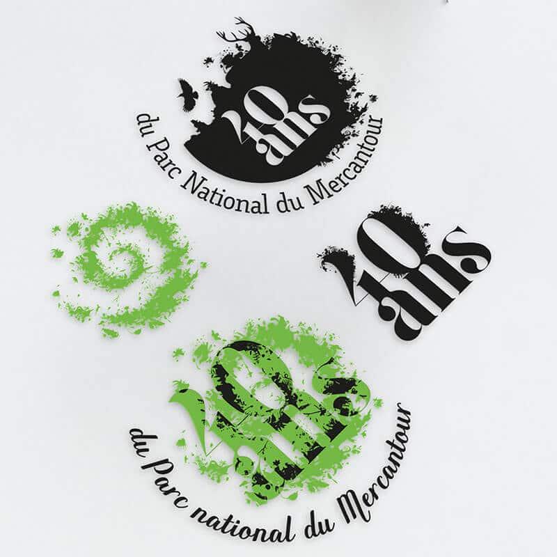 Recherches graphiques Recherches graphiques pour le Parc national du Mercantour