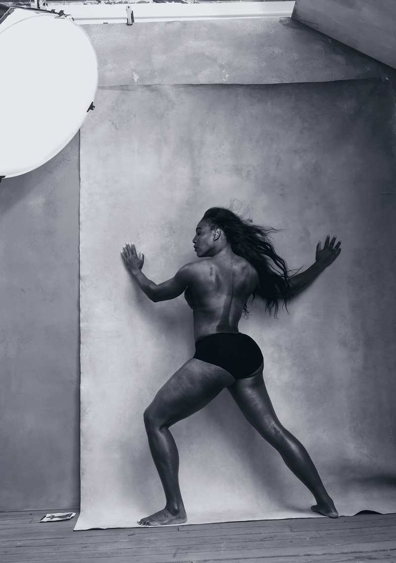 Serena Williams – © Annie Leibovitz, Pirelli